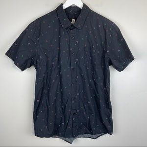 Official Playstation Print Short Sleeve Button-Up